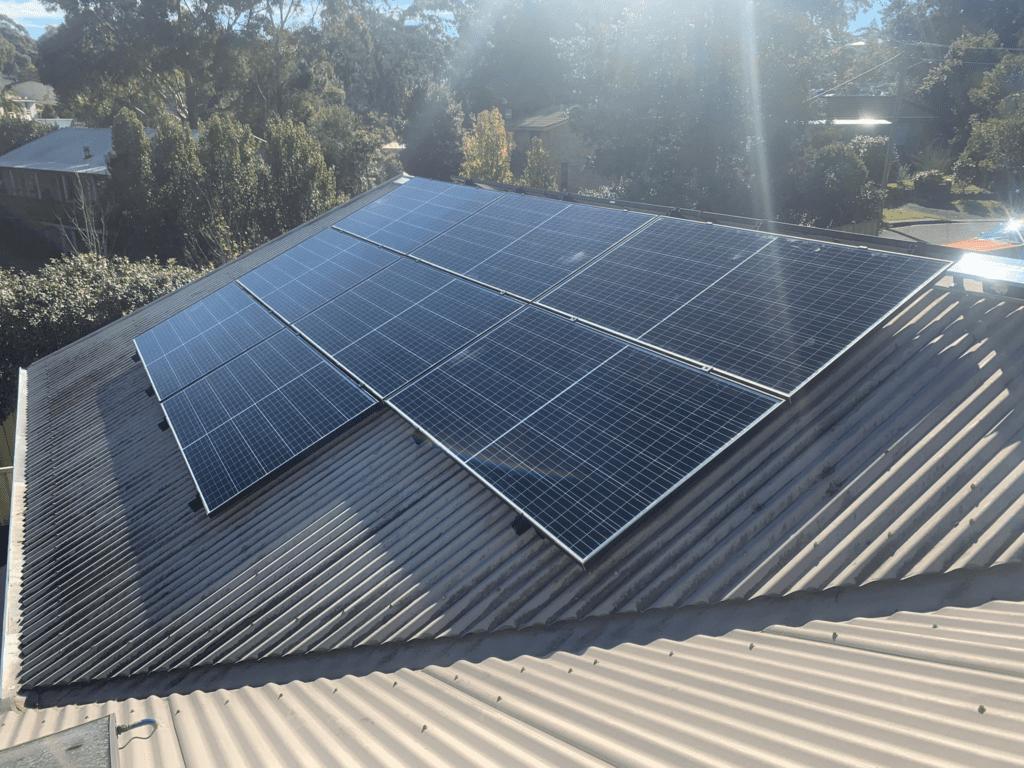 Mollymook Solar Installation